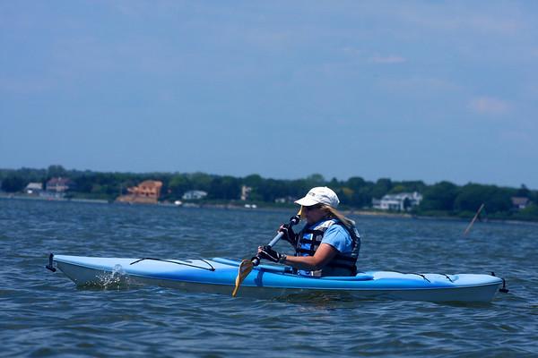 2011 - Kayaks on the Shore