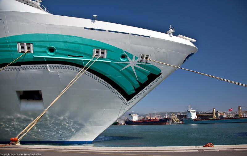 Norwegian Jade at the port of Izmir