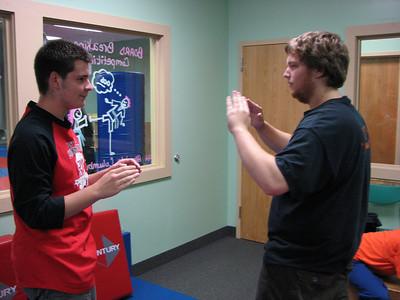 Karate Class! 7-27-2010