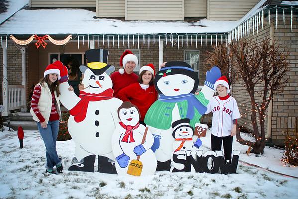 Scholes in the Snow 18 Dec. 2010