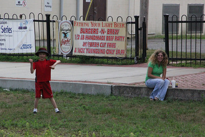 Summer Concert Series, Train Station, Tamaqua (7-19-2012)