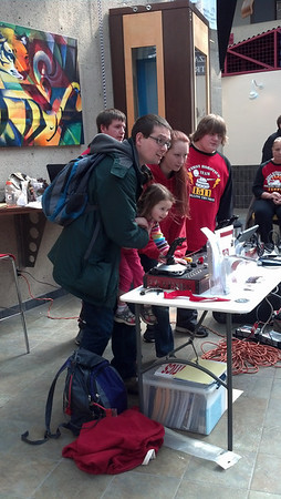 Jr. FLL Expo at RIT 3.16.14