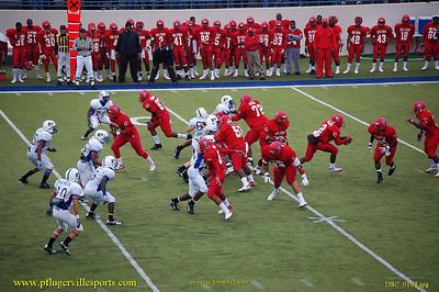 Pflugerville Panthers vs. Dallas Carter Cowboys, Armando Zapata photos