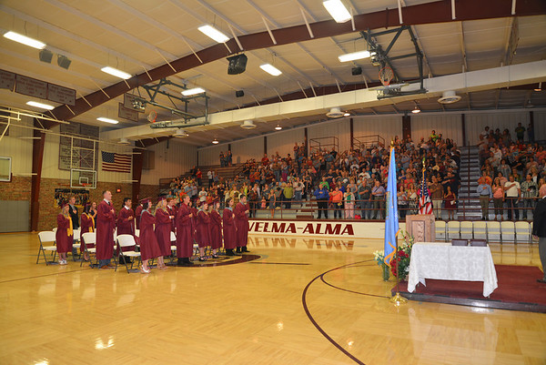 2014 Velma-Alma High School Graduation