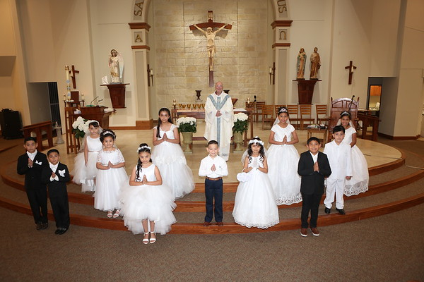 First Holy Communion, May 30