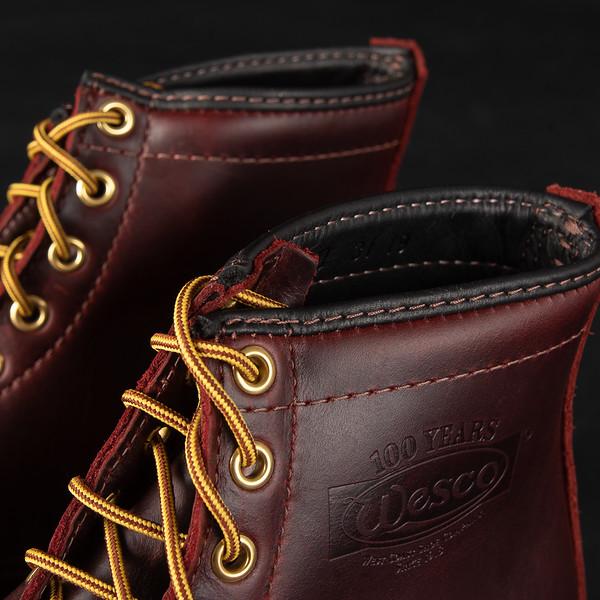 "Iron Heart Int'l x Wesco® - 7"" Black Tie Domain Toe Cap Boot--9.jpg"