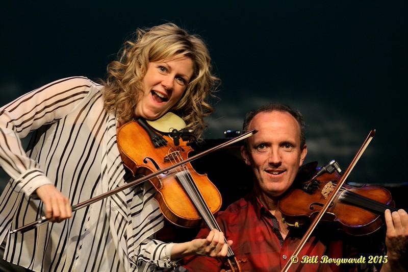Natalie MacMaster & Donnall Leahy - Calvin Vollrath - Fiddle Gala 2015 0111