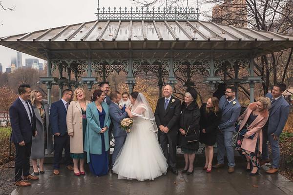 Central Park Wedding - Michael & Eleanor