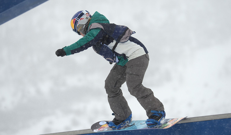 . Ty Walker is in action during the women\'s slope style final of the Burton U.S. Open. Vail, Colorado. March 7. 2014. (Photo by Hyoung Chang/The Denver Post)