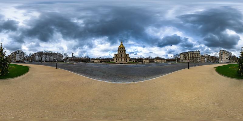 La Place Vauban - Les Invalides