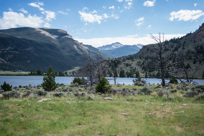 The view from Ring Lake Ranch