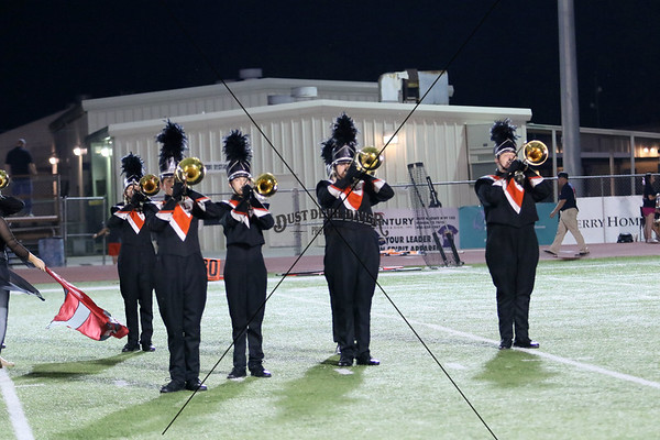 Navarrow Band and Sideline