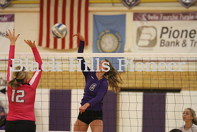 10-19-18 LD volleyball @ Belle Fourche