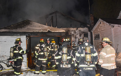 2 Alarm Structure Fire - Front St, Winchendon, Ma - 2/6/21