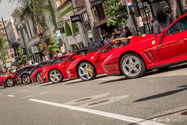 Concorso Ferrari Pasadena 2016
