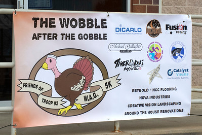 Wobble After the Gobble 5K - 2018 Pre and Post Photos