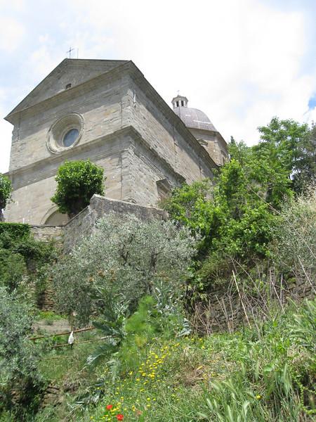 Santa Maria delle Grazie from below