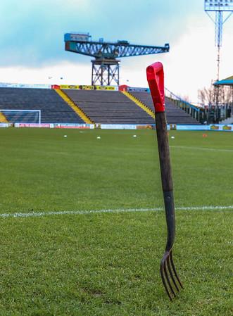 Greenock Morton v Inverness Caledonian Thistle. Ladbrokes Championship. Scottish Professional Football League. December 2018.