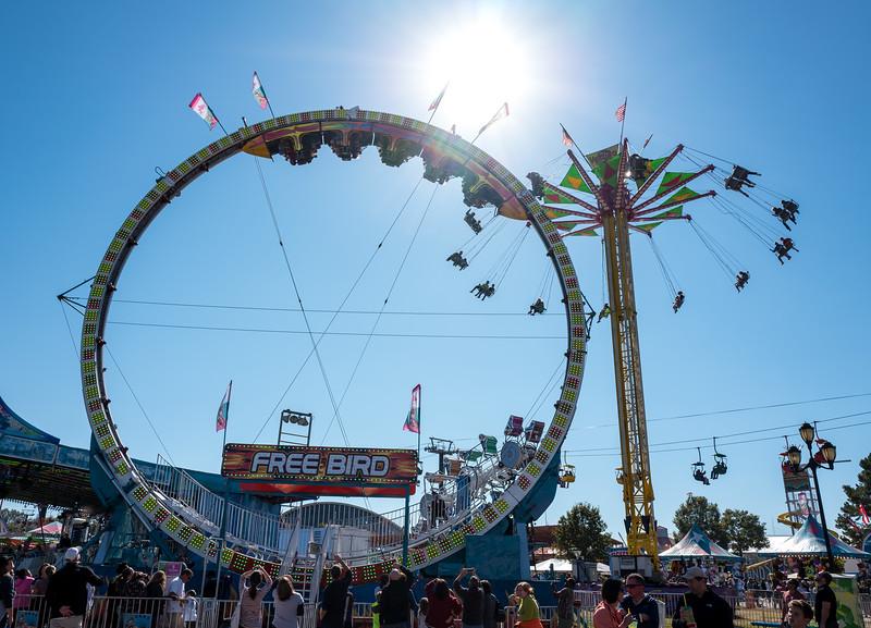 Carousel at NC State Fair 2016