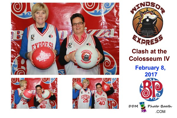 Windsor Express Clash at the Colosseum IV by Boston Pizza