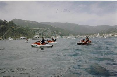 August 8, 2006 ski ride to Avalon
