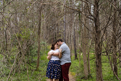 Rachael & Brandon | Family Engagement Photography at Merritt's Pasture in Chapel Hill