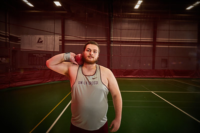 2020 UWL Track and Field Throwers
