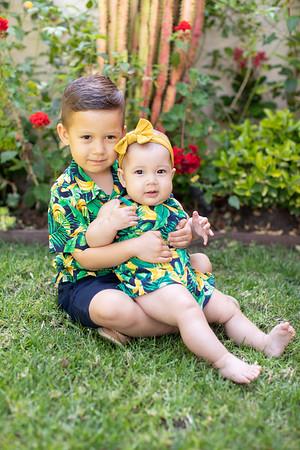 Mariela's 6 Months + Cruz 4 Years