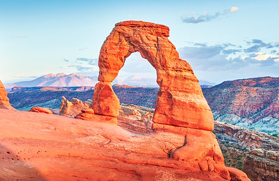 Delicate Arch by Poul Riishede