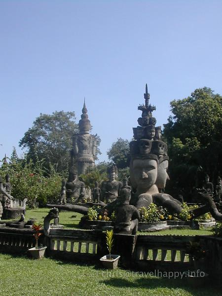 Buddha Park (Xieng Khuan), near Vientiane, Laos