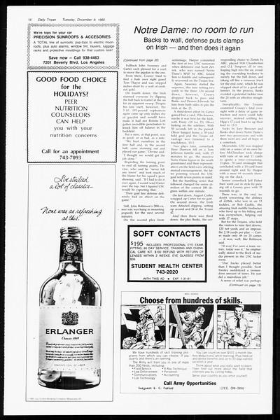 Daily Trojan, Vol. 89, No. 55, December 09, 1980
