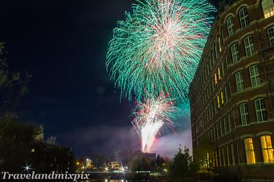 Paisley Fireworks Display 2017