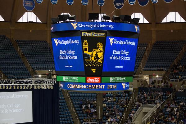 WVU Graduation 2016