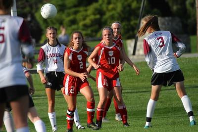 LTS Varsity Girls Soccer vs Arlington II photos by Gary Baker