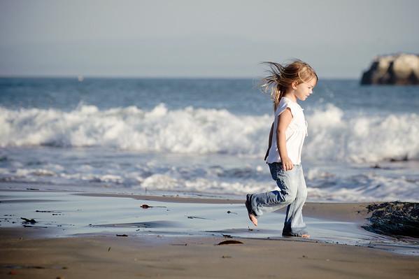 The McMenemys (Family Photography, Dog Beach, Santa Cruz, California)