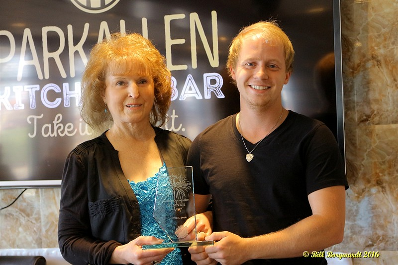 Maryanne Gibson with Justin Hogg - 18-29 Winner - Star Search 2016 214