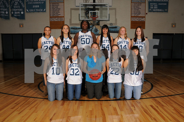 2010-11 CHS Girls JV Basketball Team Pics