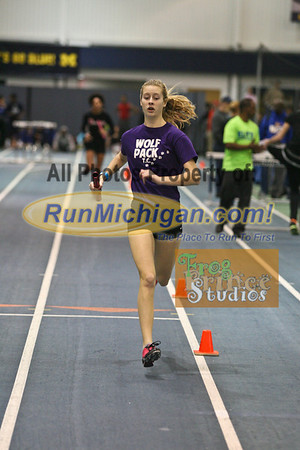 Girls' 4x400 - January 29 MITS Meet at UM
