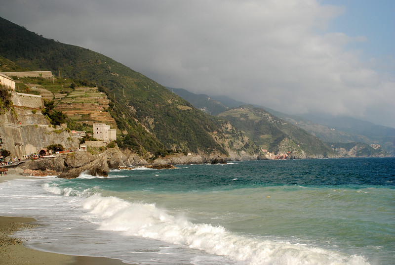 View from Monterosso, Italy