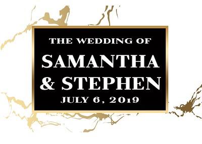Samantha & Stephen's Wedding!