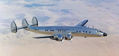 Lockheed C-121 Constellation the military transport version of the Lockheed Constellation