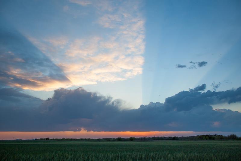 Dynamic Spring Sunset