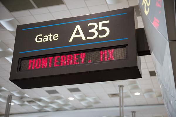12-17-16 Aeromexico Inaugural Flight to Monterrey, Mexico