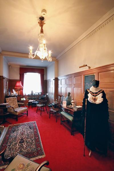 The Mayor's study in Stratford-Upon-Avon