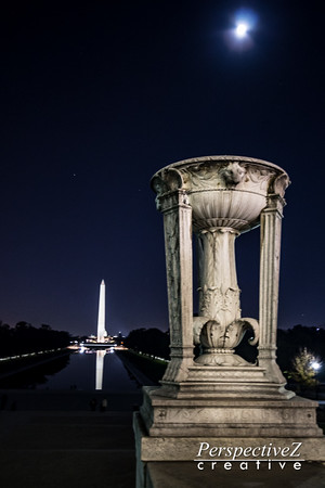Washington D.C. at night