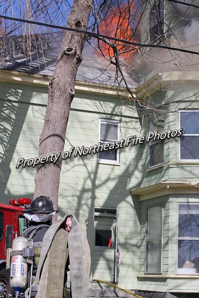Boston- Woodworth Street