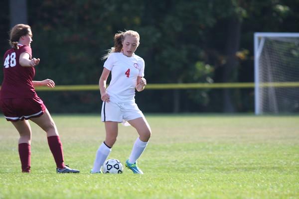 JV & Varsity Girls Soccer: GA vs The Hun School