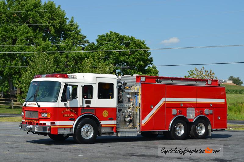 Kutztown Fire Co. Pumper Tanker 32: 2004 ALF Metropolitan 1500/2250