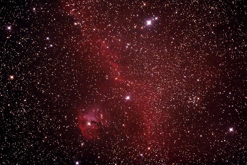 IC2177 Seagull Nebula  - 29/12/2018 (Processed Stack)