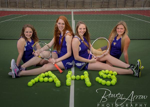 Girls Tennis Team Photos 2014
